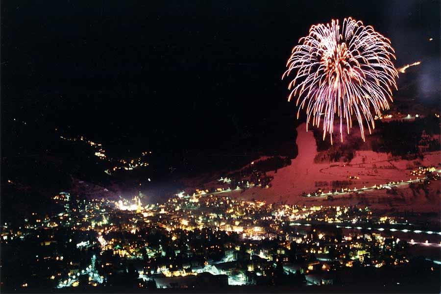 Fuochi d'artificio a Bormio